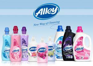 Alley Temizlik Ürünleri Etiket Tasarımları