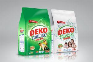 Deko Deterjan Ambalaj Tasarımı