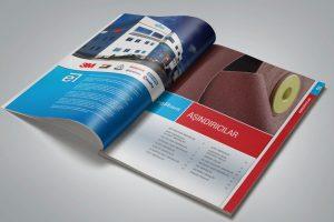 Egebant Aşındırıcılar Katalog Tasarım