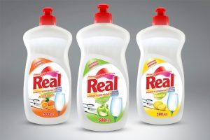 Real Bulaşık Deterjanı EtiketTasarım