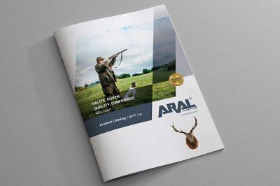 Aral Silah, Av Malzemeleri Katalog Tasarımı