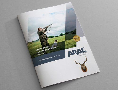 Aral Silah Katalog Tasarımı