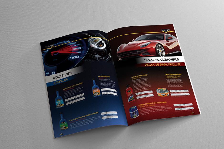 Katalog Sayfa Tasarım