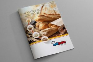 Mirpain Bakery Ingredients Katalog Tasarımı