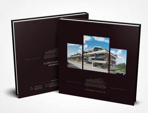 Dream Life Yalova İnşaat Katalog Tasarım