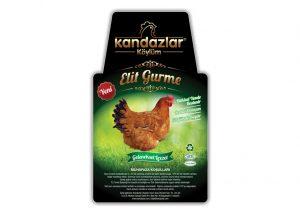 Tavuk Etiket Tasarımı