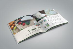 Süt ve Süt Ürünleri Katalog Tasarımı