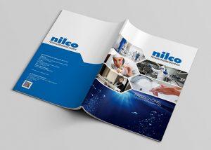 Nilco Endüstriyel Temizlik Kimyasalları Katalog Tasarımı