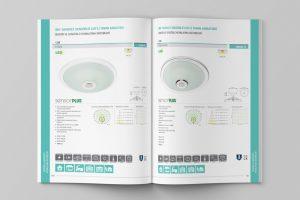 Acil aydınlatma sistemleri katalog tasarım