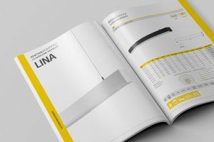 Aydınlatma ürünleri katalog tasarım