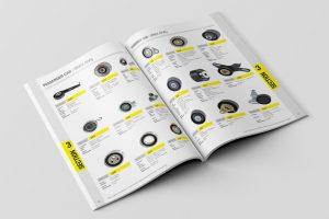 Yedek Parça Ürün Kataloğu Tasarımı