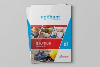İş güvenlik ürünleri katalog tasarımı