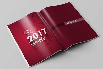 Mimari tasarım merkezi katalog tasarımı