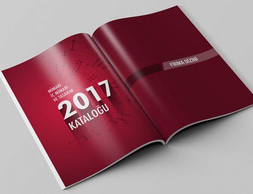 Mimari Tasarım Merkezi Katalog Tasarım ve Baskı