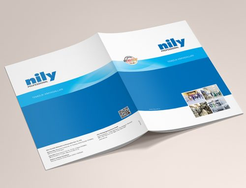 Nily Endüstriyel Temizlik Ürünleri Katalog Tasarım