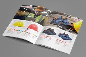 Sander İş Güvenliği Katalog Tasarımı
