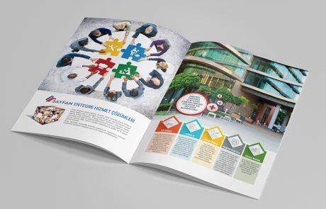Tesis yönetimi katalog tasarım