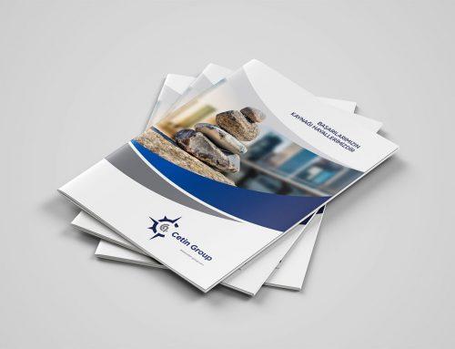 Çetin Group Güvenlik Katalog Tasarımı