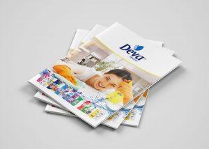 Temizlik Ürünleri Katalog Kapak Tasarım