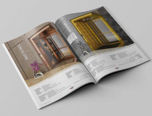 BSB Asansör Kataloğu Tasarımı 2018